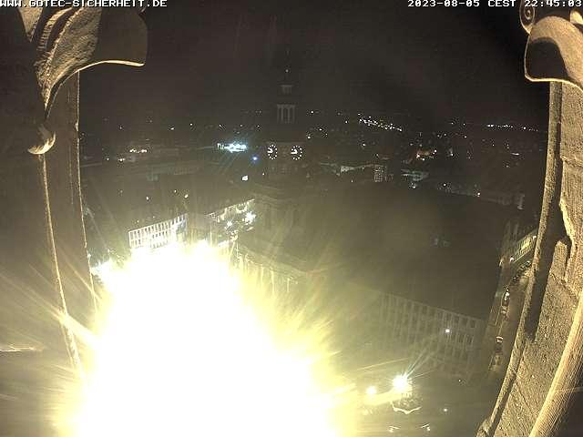Blick auf die Dreifaltigkeitskirche